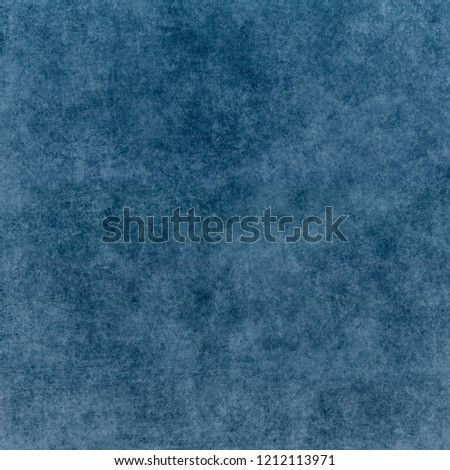 Blue designed grunge texture. Vintage background with space for text or image #1212113971