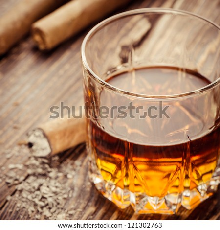 Cigar And Cognac #121302763