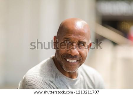 Mature African American Man #1213211707