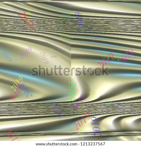Abstract Christmas background, illustration, New Year, 2019 #1213237567