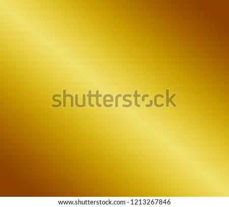 Yellow metal texture background #1213267846