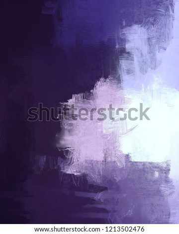 2d illustration. Contemporary art. Hand made art. Colorful texture. Modern artwork. Strokes of fat paint. Brushstrokes. Artistic background image. Abstract painting on canvas. #1213502476