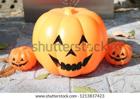 halloween symbol pumkin #1213837423