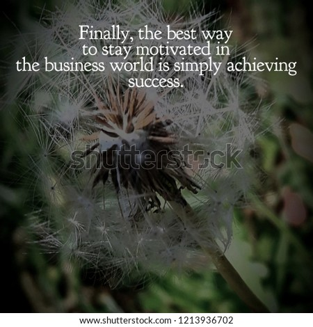BUSINESS SUCCESS QUOTES #1213936702