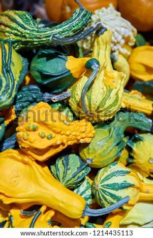 Halloween pumpkins in the shop #1214435113
