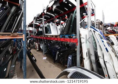 Auto parts market. #1214719195