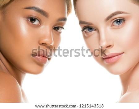 Ethnic beauty women skin beauty cosmetic female portrait #1215143518