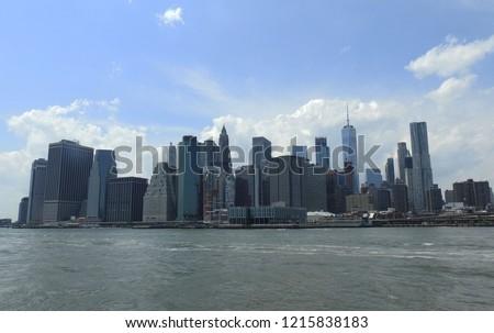 New York Skyline #1215838183