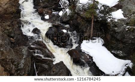 a frozen river #1216784245