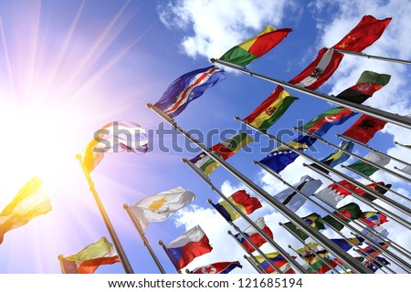 World flags #121685194
