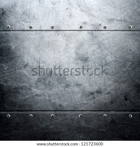 Metal background Royalty-Free Stock Photo #121723600