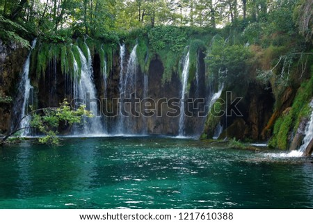 Plitvice lakes, Croatia #1217610388