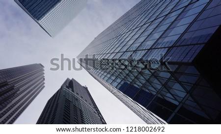 Toronto financial district - Yonge Street #1218002692