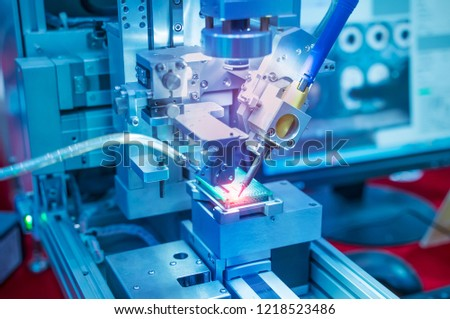 soldering iron tips of automated manufacturing soldering and assembly pcb board #1218523486
