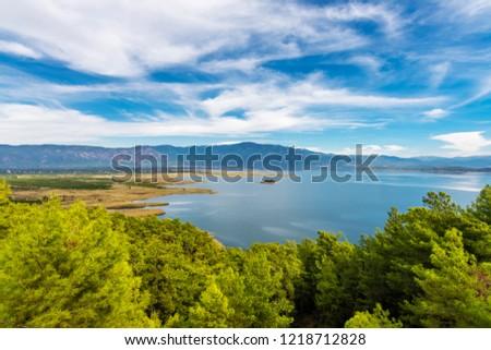 Koycegiz Lake view in Turkey #1218712828