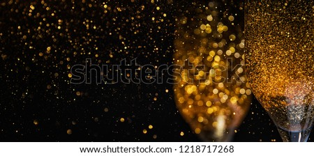 Happy New Year 2019! Christmas and New Year holidays background, winter season.  #1218717268