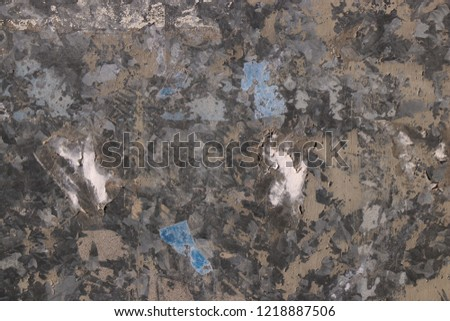 old used grunge grungy metallic vintage rusty metal iron background wallpaper backdrop structure textue pattern wall paper back wall ground crack scratch peel raw urban aged design stale plate rustic #1218887506