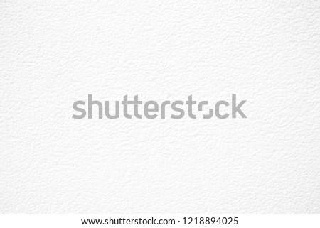 White Concrete Wall Texture Background. #1218894025