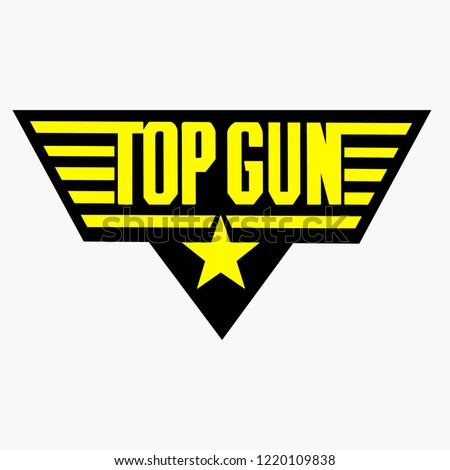 official badge of the top gun school
