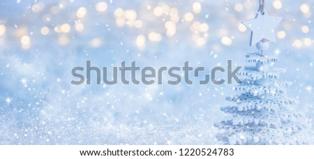 2019. Christmas and New Years holiday background #1220524783