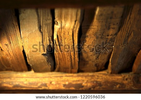 closeup of wooden boards #1220596036