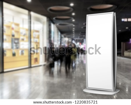 Stand Display Sign