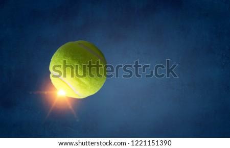 Big tennis concept #1221151390
