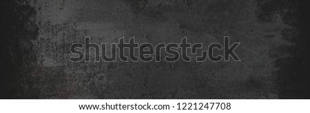 Black grunge background.  Blackboard. Chalkboard. Dark Dust and  Distress Background with scratches.