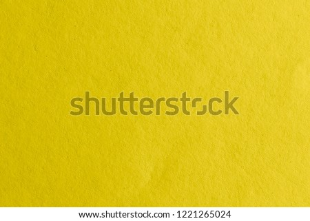 Yellow paper texture #1221265024