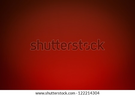 A warm light brightens a wall creating a nice radial gradient for a background