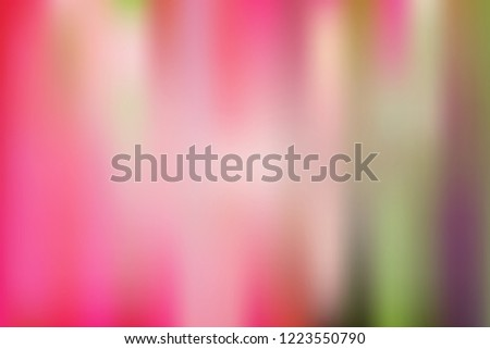 Abstract blurred gradient mesh background in bright and pastel pink colors. Colorful smooth banner template. Easy editable soft colored vector illustration in EPS10 without transparency. #1223550790
