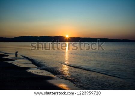 Sunrise at the sea #1223959720