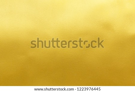 Gold foil texture background #1223976445