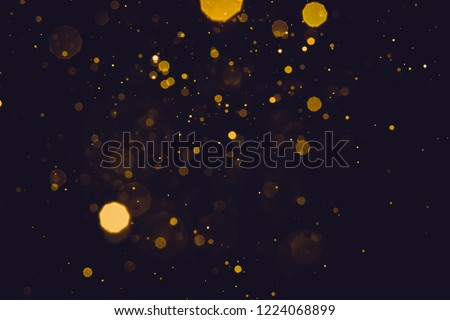 Abstract blur gold sparkle bokeh background #1224068899