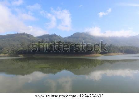 munnar dam lake #1224256693