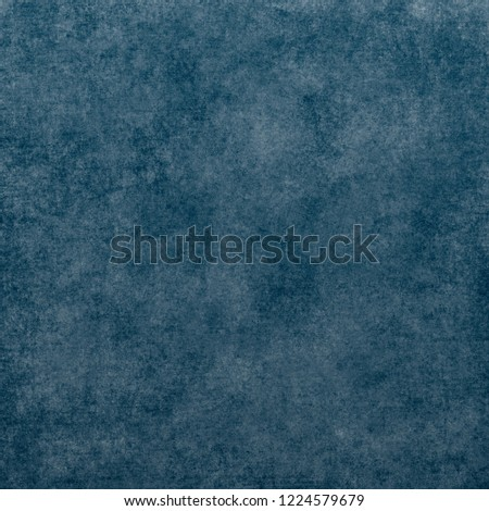Blue designed grunge texture. Vintage background with space for text or image #1224579679