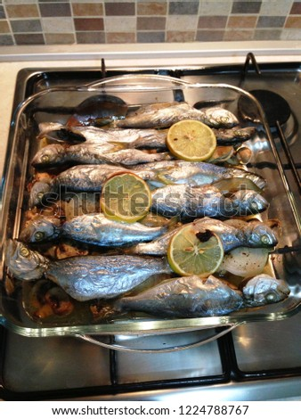 delicious fish from oven #1224788767