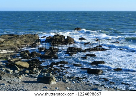Rhode Island sea shore #1224898867