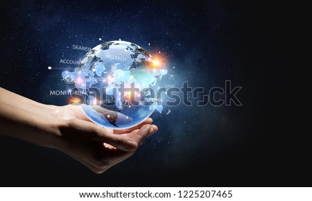 Technologies connecting the world #1225207465