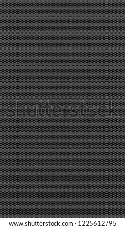 White honeycomb on a black background. Seamless texture. Isometric geometry. 3D illustration #1225612795
