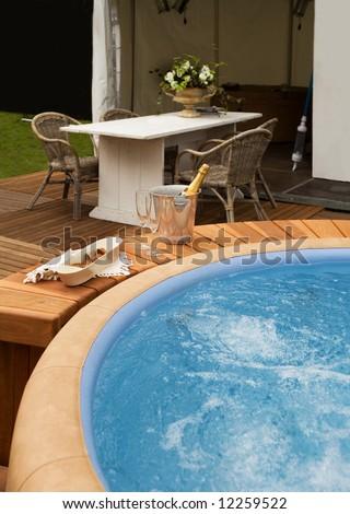 luxury spa bath #12259522