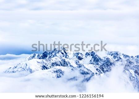mountains from the Pic du Midi de Bigorre