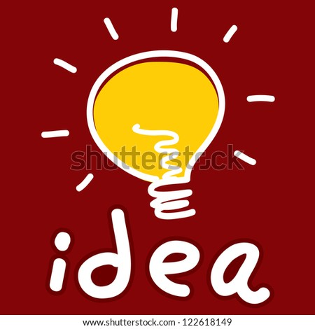 idea light bulb #122618149
