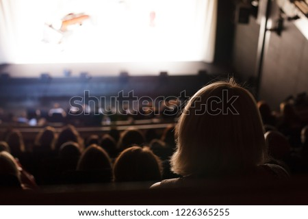 audience at the theater #1226365255