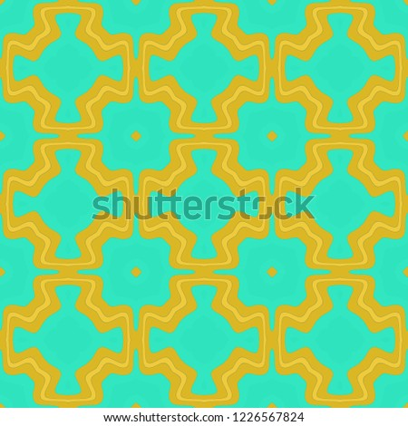 Seamless background pattern with a variety of multicolored lines. #1226567824