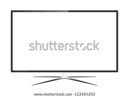 LED Television - Vector Design #122685202