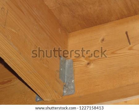 Wooden joist hangers #1227158413