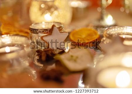 Christmas table decoration, Christmas #1227393712