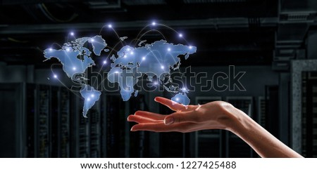 Global communication and networking #1227425488
