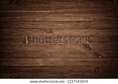 Image of dark bumpy wooden table top background #1227542659
